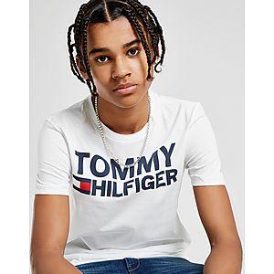 932bdc5af8788 Tommy Hilfiger Flag Logo T-Shirt Junior ...