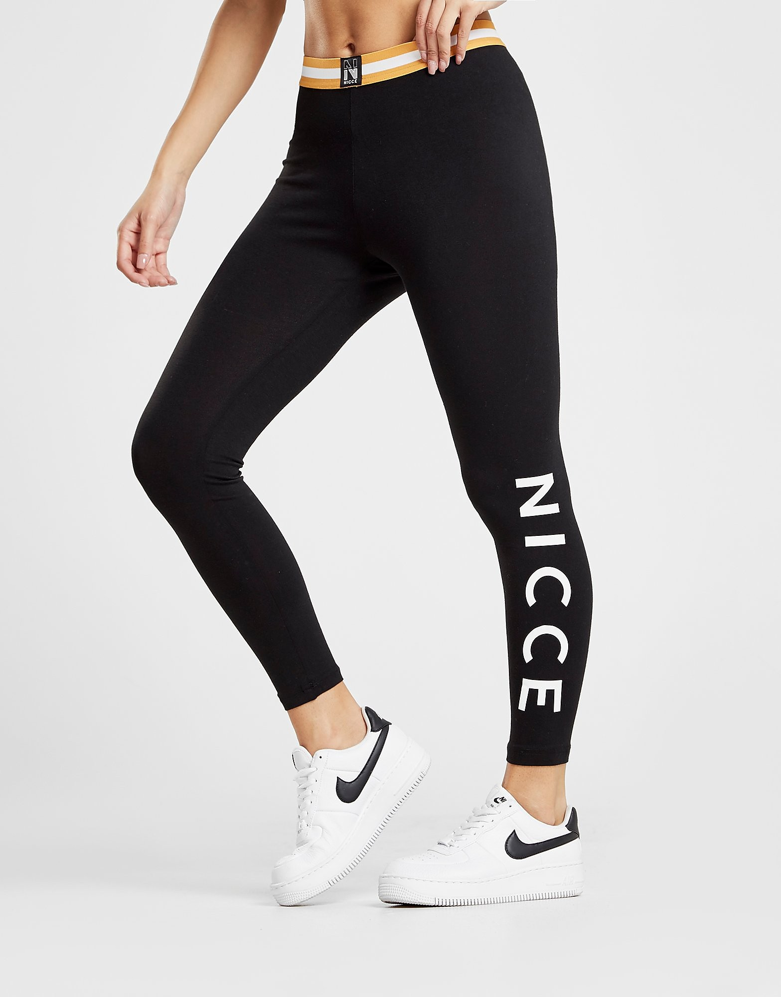 Nicce Tape Waist Leggings
