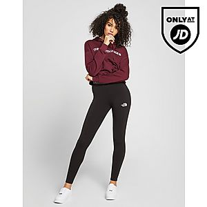 4e7c2859e74fd ... The North Face Embroidered Logo Crop Hoodie