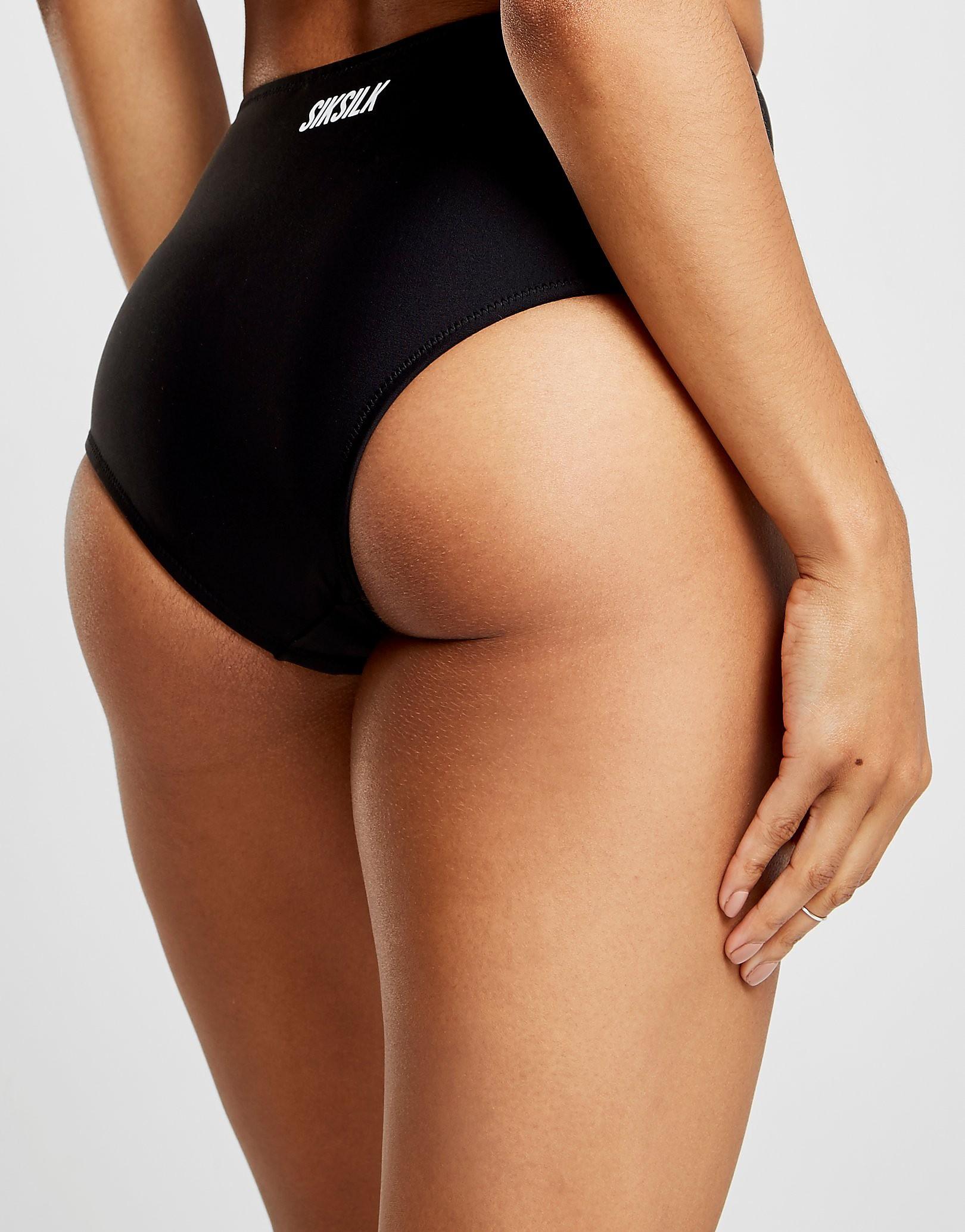 SikSilk High Waist Bikini Bottoms