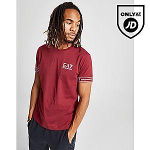 56f582c59dc ... Emporio Armani EA7 Short Sleeve Tape T-Shirt