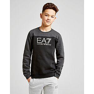 468507e85 Emporio Armani EA7 Tritional Foil Crew Sweatshirt Junior ...
