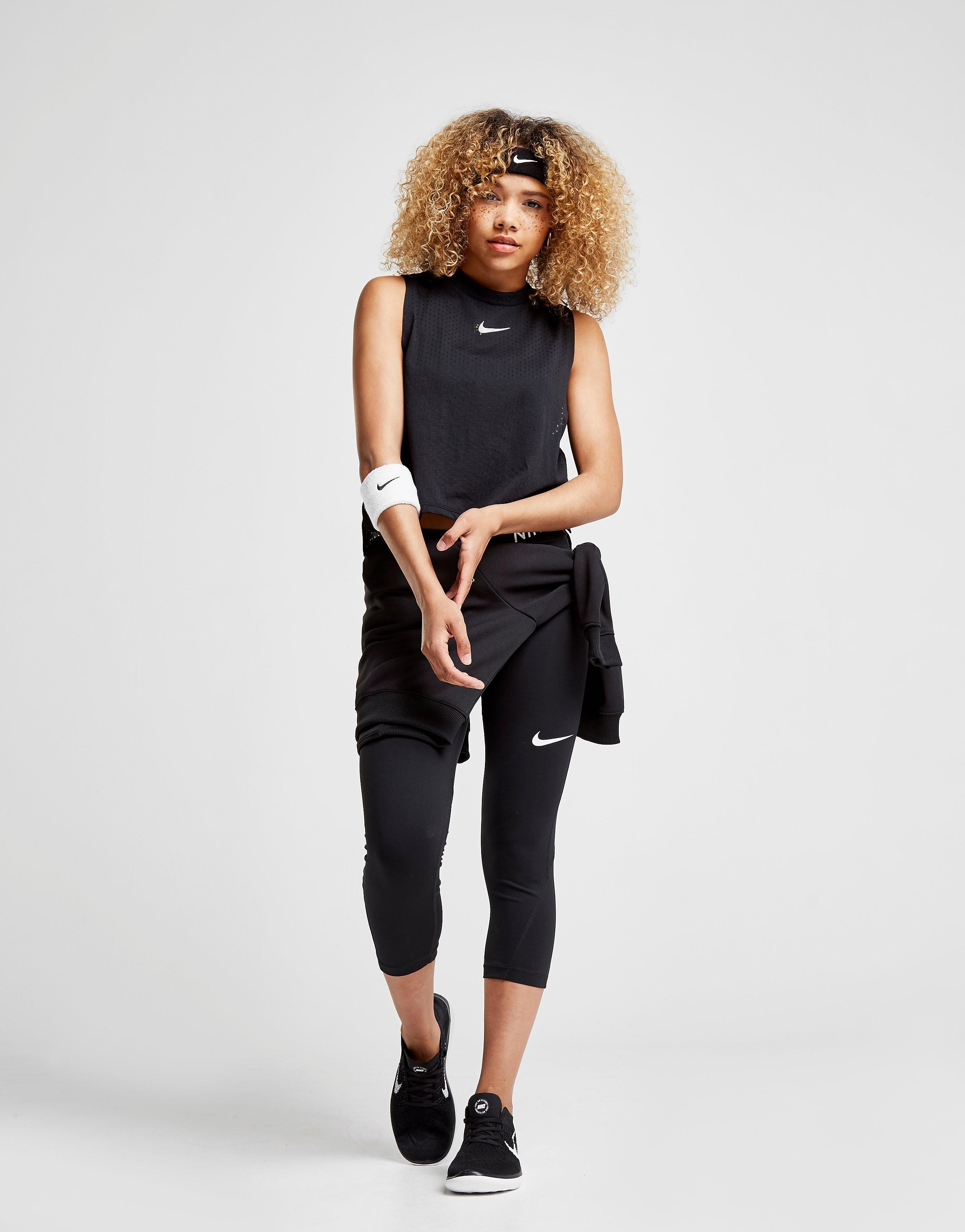 Nike Running Tailwind Crop Tank Top