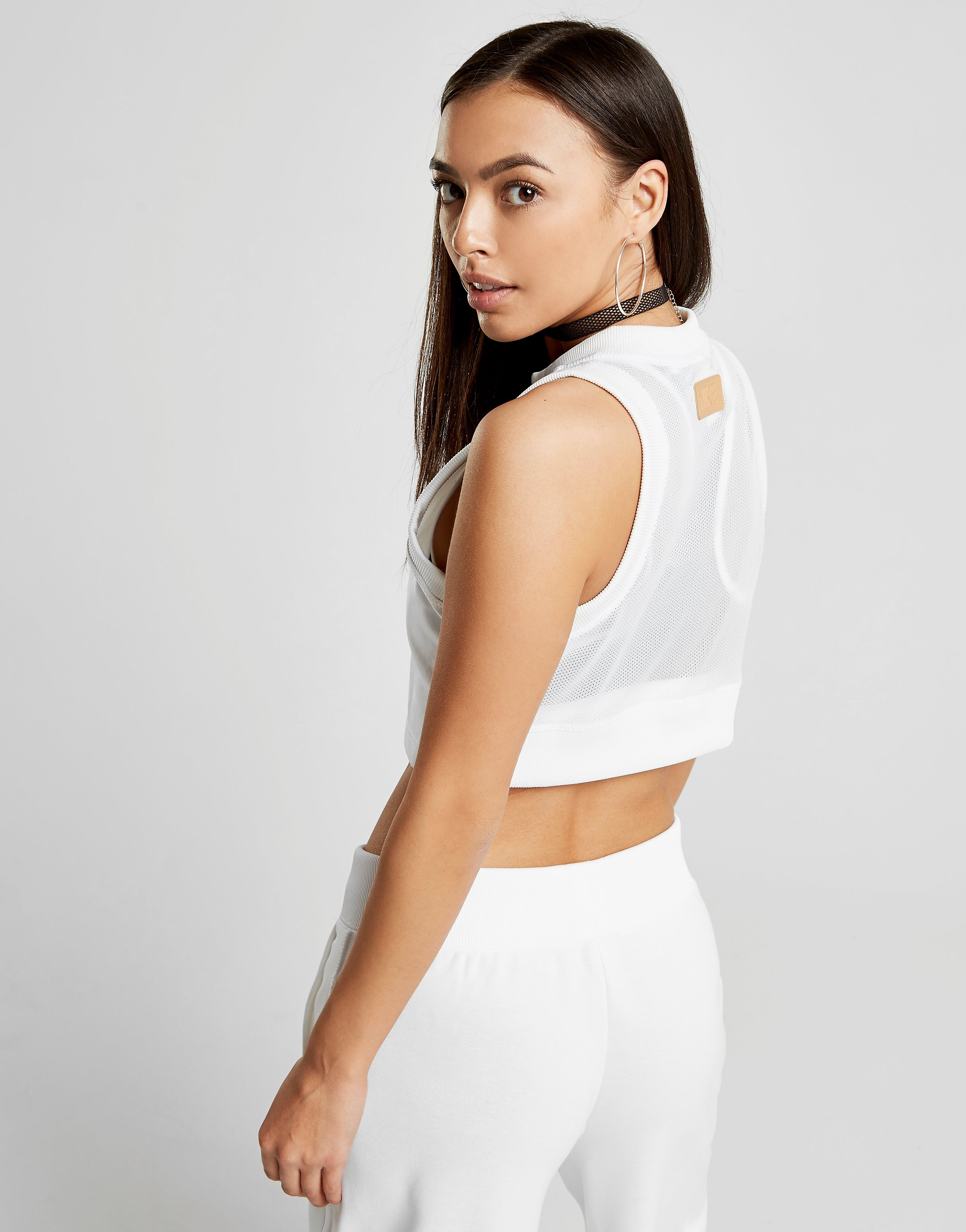 Nike Beautiful x Powerful Zip Crop Tank
