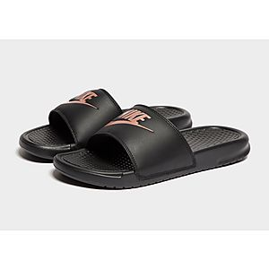 new products b13db 050c6 ... Nike Benassi Just Do It Slides Women s