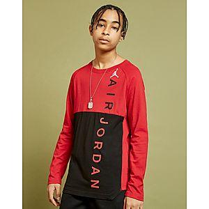 huge discount e4bf6 53787 Jordan Jumpman Long Sleeve T-Shirt Junior ...