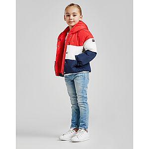8c336eb56 ... Tommy Hilfiger Girls  Colour Block Flag Padded Jacket Children
