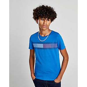 Tommy Hilfiger Essential Flag T-Shirt Junior ... cd05f72fb5