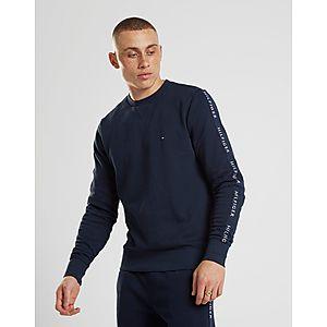 0a9f70f1d4a319 Tommy Hilfiger Sleeve Tape Crew Sweatshirt Tommy Hilfiger Sleeve Tape Crew  Sweatshirt