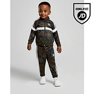 93c12fc92c7 adidas Originals Itasca Camo Superstar Tracksuit Infant ...