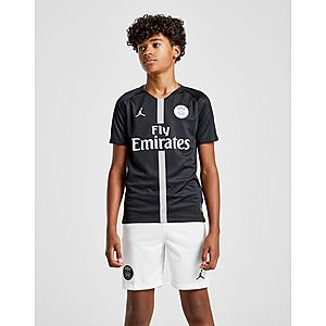 best sneakers 11da8 7249c Jordan x Paris Saint Germain 2018 19 CL Home Shirt Junior ...