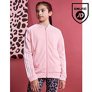 8d1c98ea3b6e adidas Originals Girls  Trefoil Superstar Track Top Junior ...