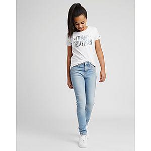 962b8607b1 ... Tommy Hilfiger Girls  Izzy High Waisted Jeans Junior