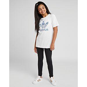 1e0805b9cf8e ... adidas Originals Girls  Trefoil Infill T-Shirt Junior