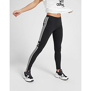 ... adidas Originals 3-Stripes Trefoil Leggings ab2b5e8abd8de