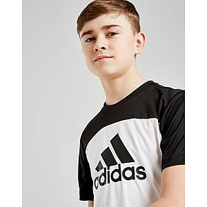 adidas Colour Block Performance T-Shirt Junior ... 4f850e237627