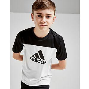 ... adidas Colour Block Performance T-Shirt Junior 63953f0332b7