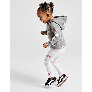 09e59c1717c ... Nike Girls  All Over Print Futura Tracksuit Infant Quick ...