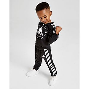 5311f52425da adidas Badge of Sport 3-Stripes Crew Tracksuit Infant ...