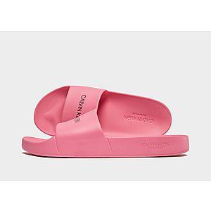 66cd819dbeed Calvin Klein EVA Slides Junior ...