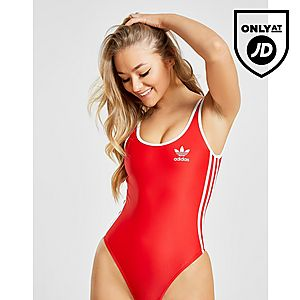 a40dba60ba124 adidas Originals 3-Stripes Swimsuit ...