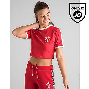 ... Gym King Crop Ringer T-Shirt 241f29557
