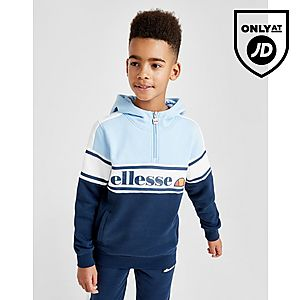 f1e7788b3144 Ellesse Tenia 1 4 Zip Fleece Hoodie Junior ...