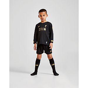 594767eaf46 New Balance Liverpool FC 2019 Goalkeeper Home Kit Children PRE ...