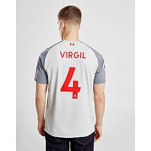 27dd7f04f New Balance Liverpool FC 2018 19 Virgil  4 Third Shirt ...