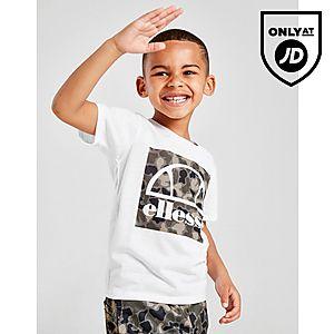 398849b551f557 Ellesse Vios T-Shirt Shorts Set Children ...