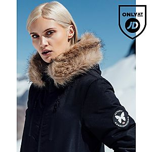 5441a2f5433d Good For Nothing Fur Hood Padded Jacket ...