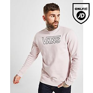 bebe11683 Vans Large Embroidered Crew Sweatshirt ...