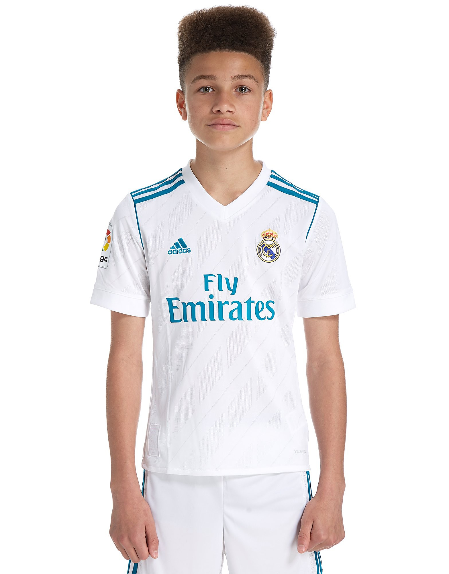 adidas Real Madrid 2017/18 Home Shirt Junior