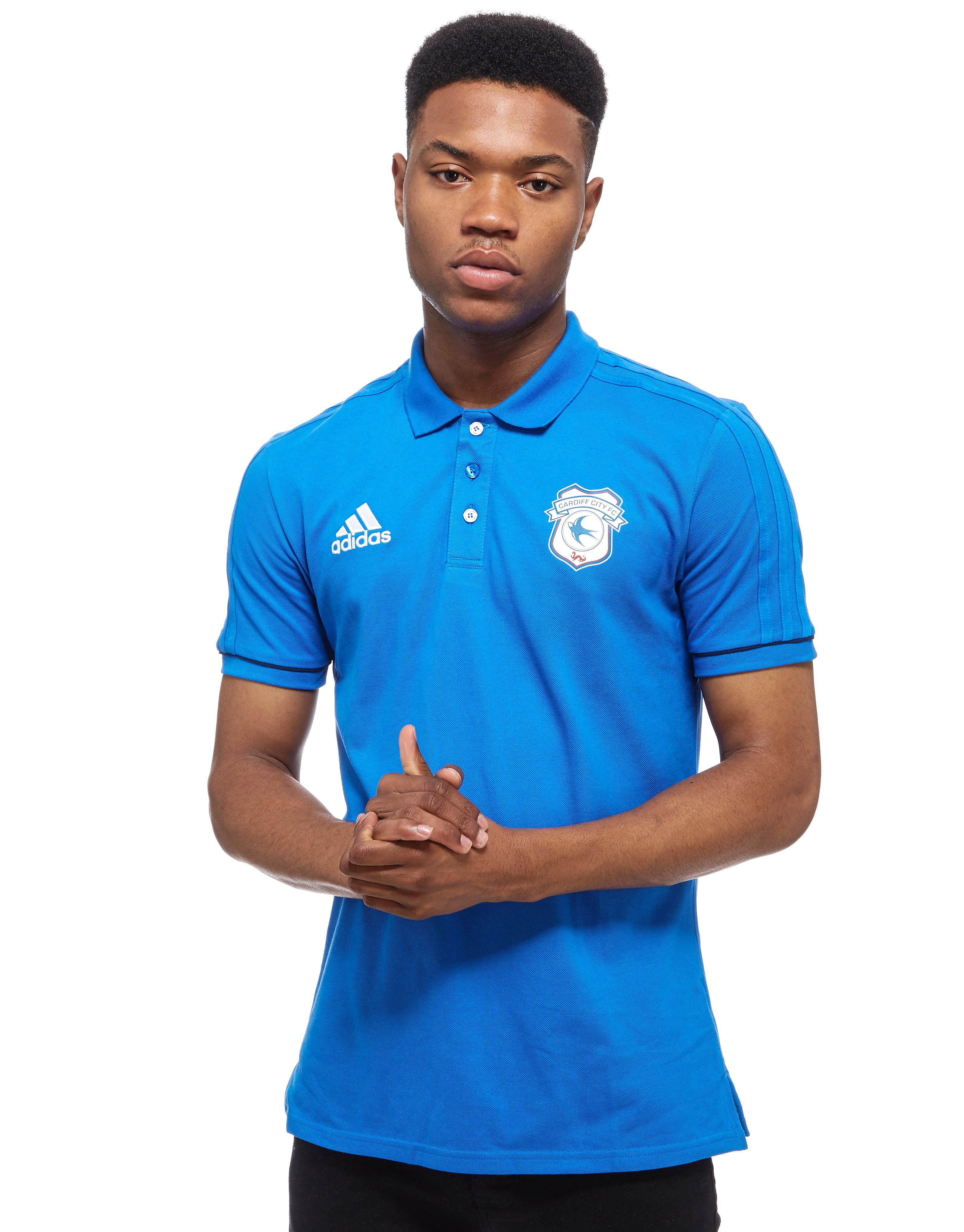 adidas Cardiff City Polo Shirt