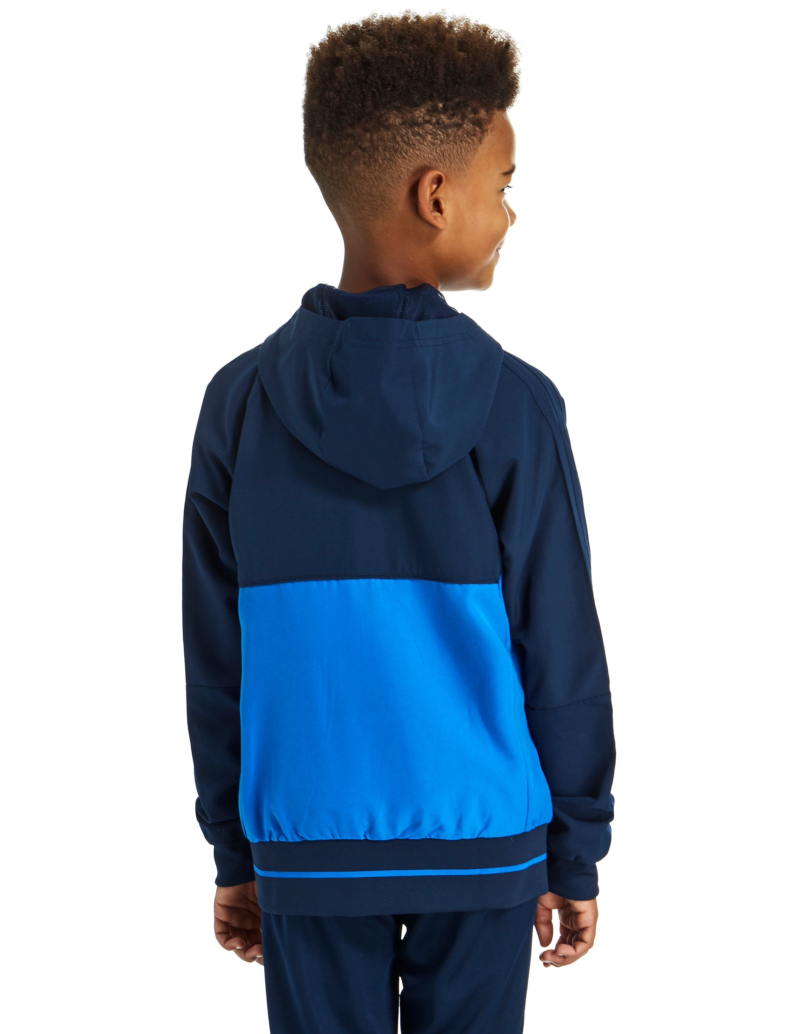 adidas Cardiff City FC 2017 Presentation Jacket Junior