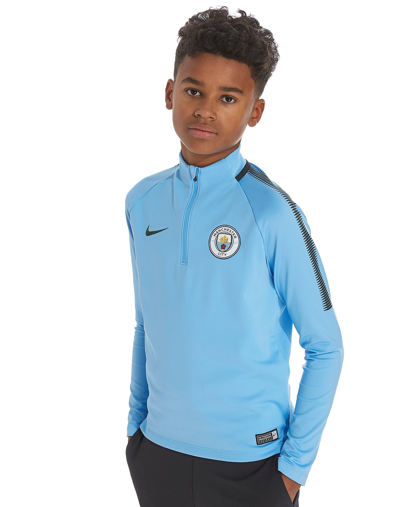 Nike Manchester City Dry Squad Drill Football Top Jnr