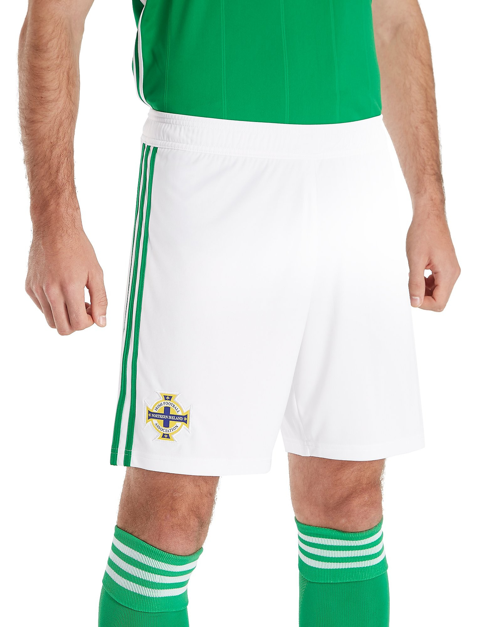 adidas Northern Ireland 2017/18 Home Shorts