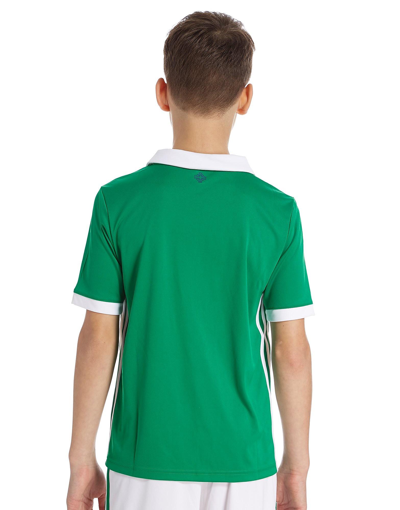 adidas Northern Ireland 2017/18 Home Shirt Junior