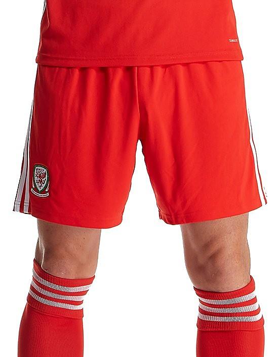 adidas Wales 2017/18 Home Shorts