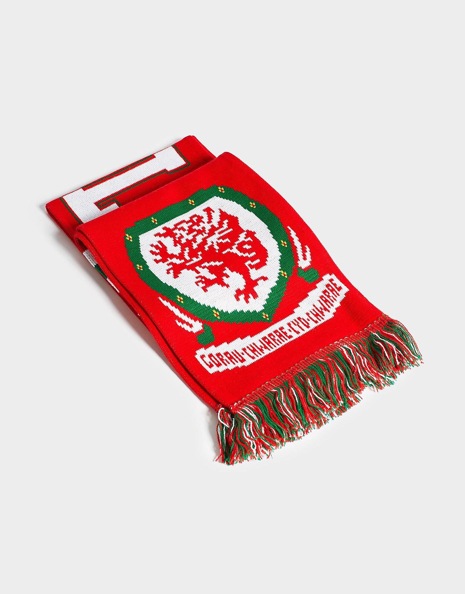 Official Team Sciarpa Galles Jacquard