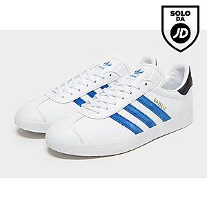best sneakers d483b 38a56 gazelle adidas bianche