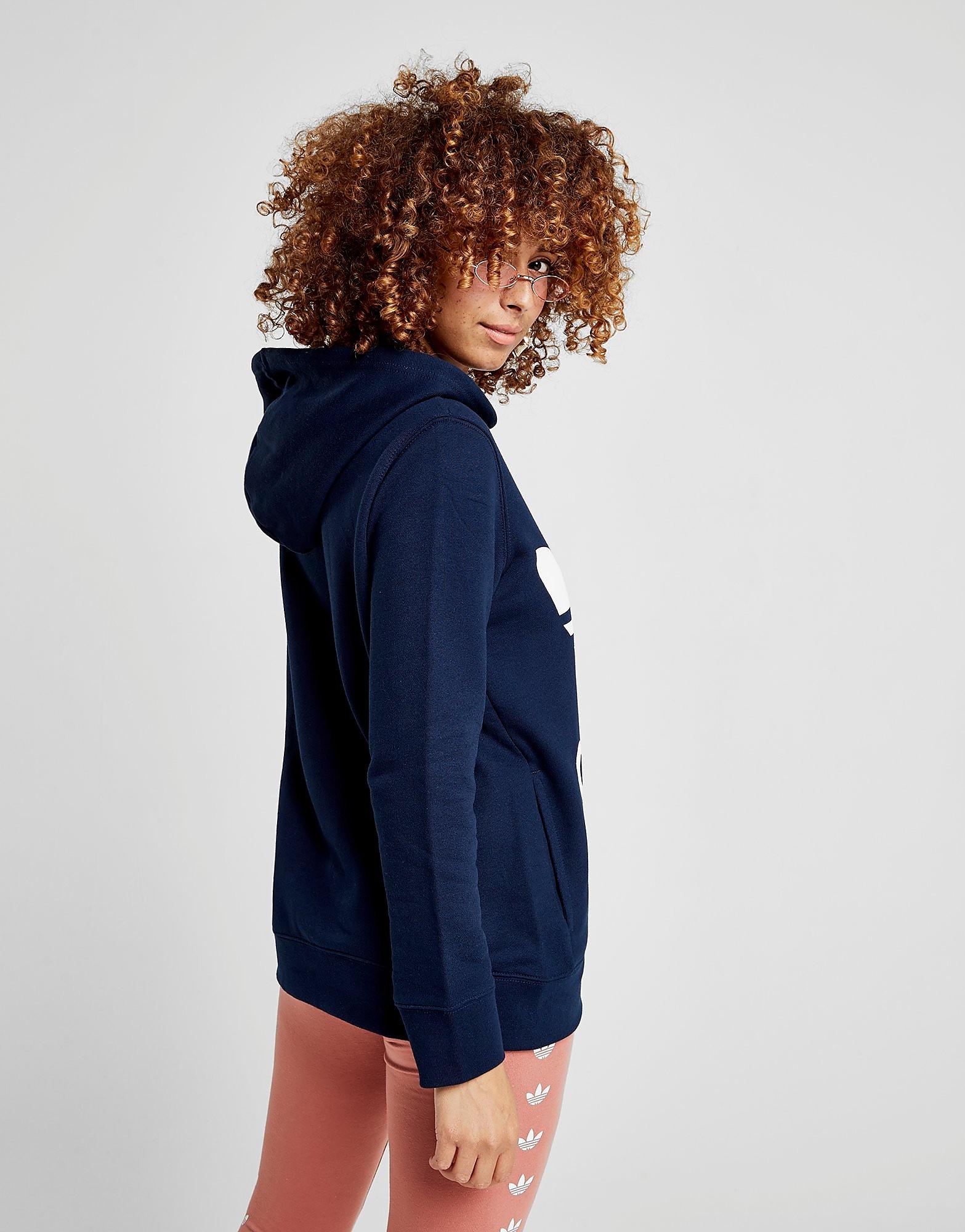adidas Originals Trefoil Overhead Felpa con Cappuccio Donna
