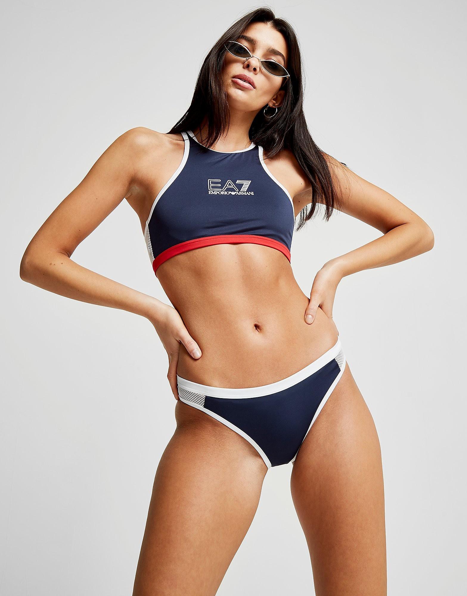 Emporio Armani EA7 Crop Bikini