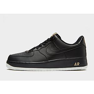 Nike Air Verde Force 1/Nero Taglia UK 7