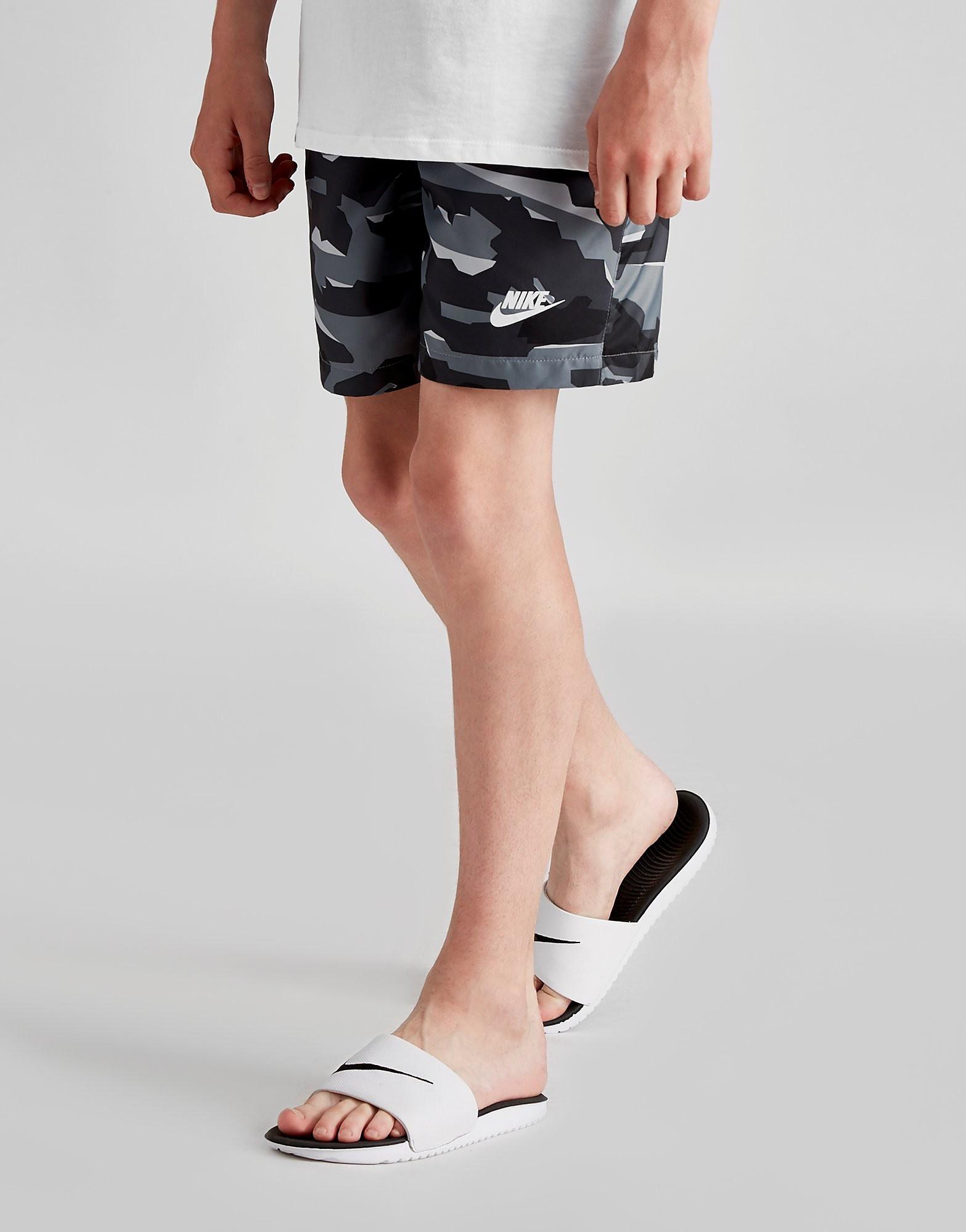 Nike Camo Woven Swim Shorts Junior