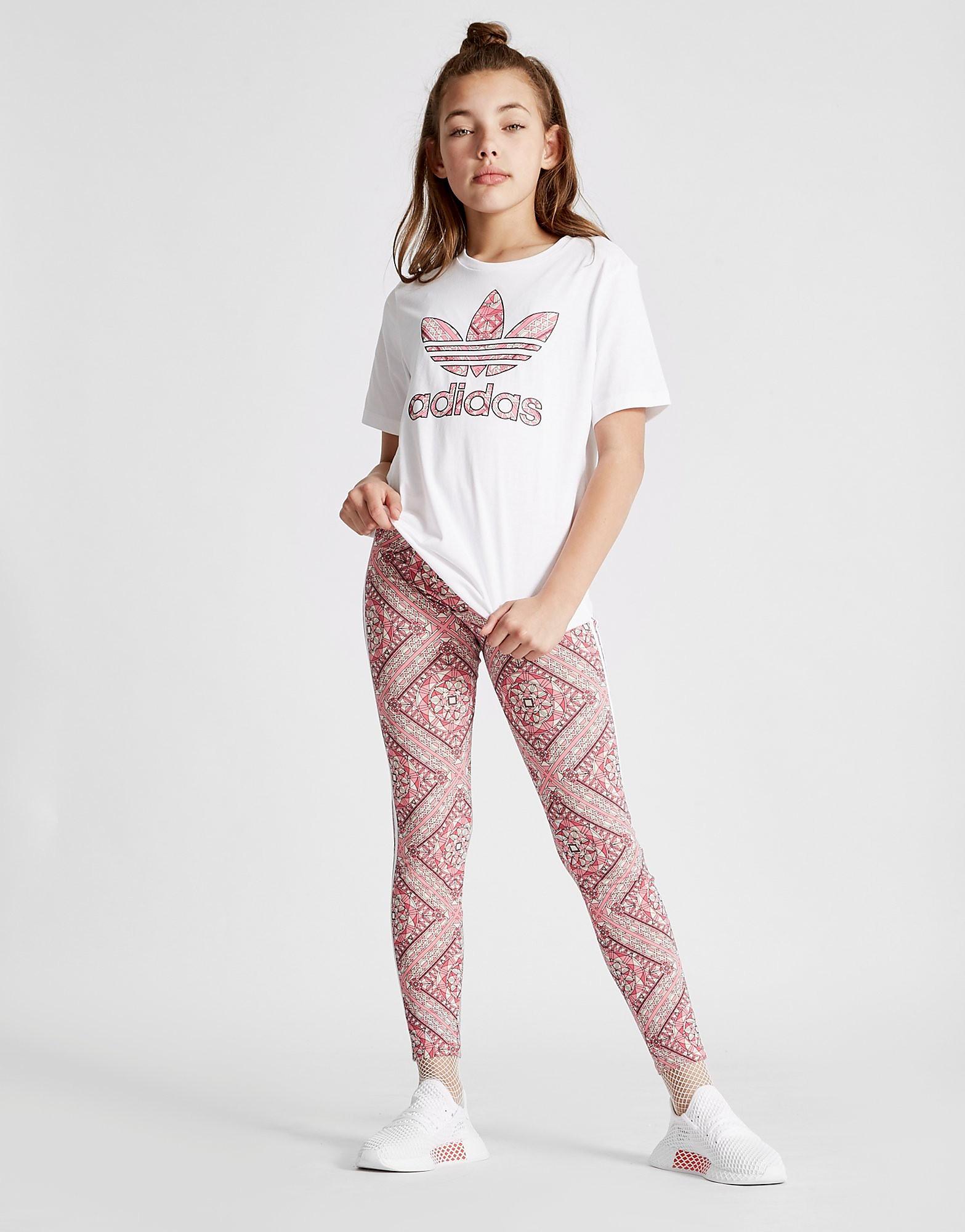 adidas Originals Geo Infil Boyfriend T-Shirt Junior