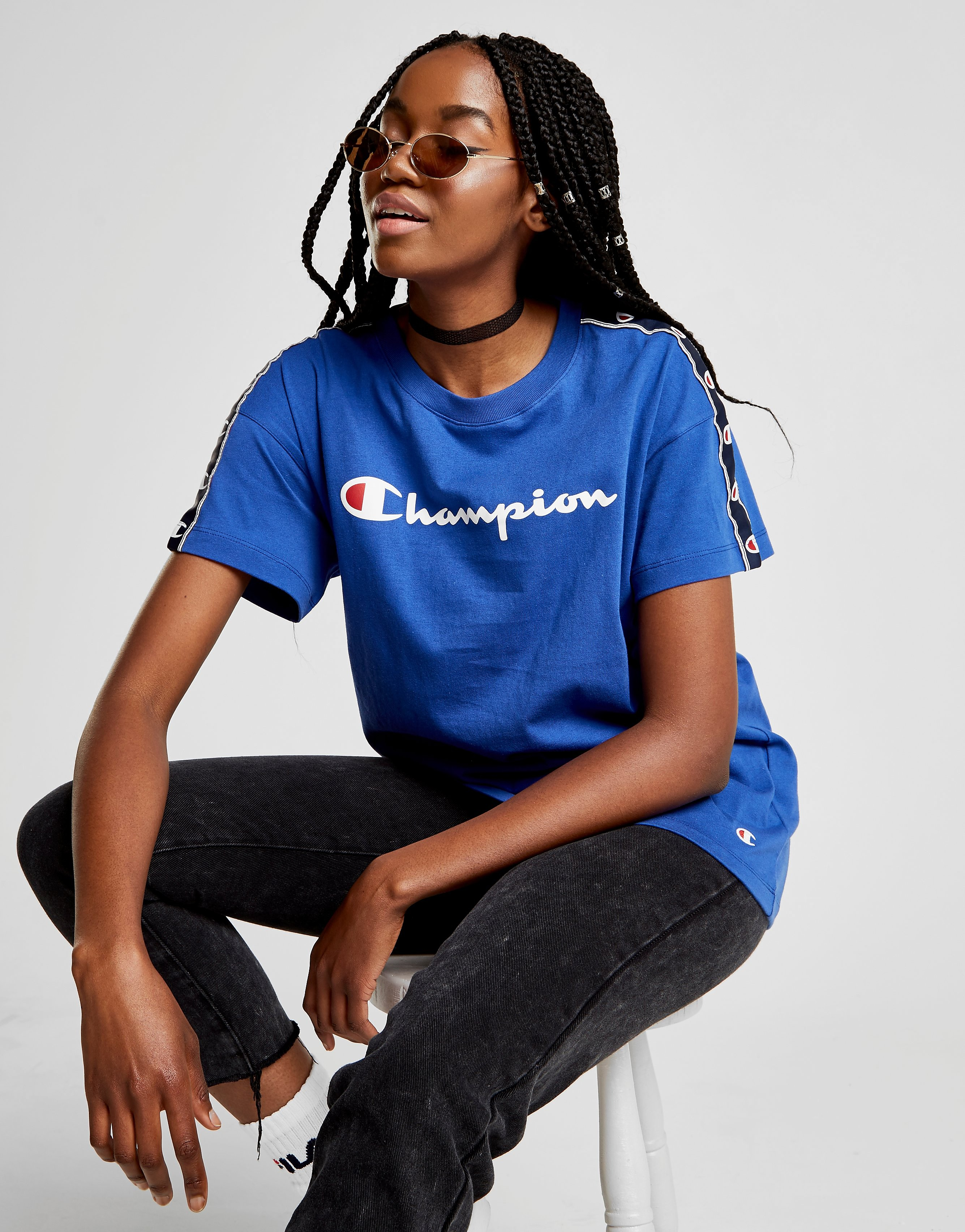 Champion Tape Boyfriend T-Shirt