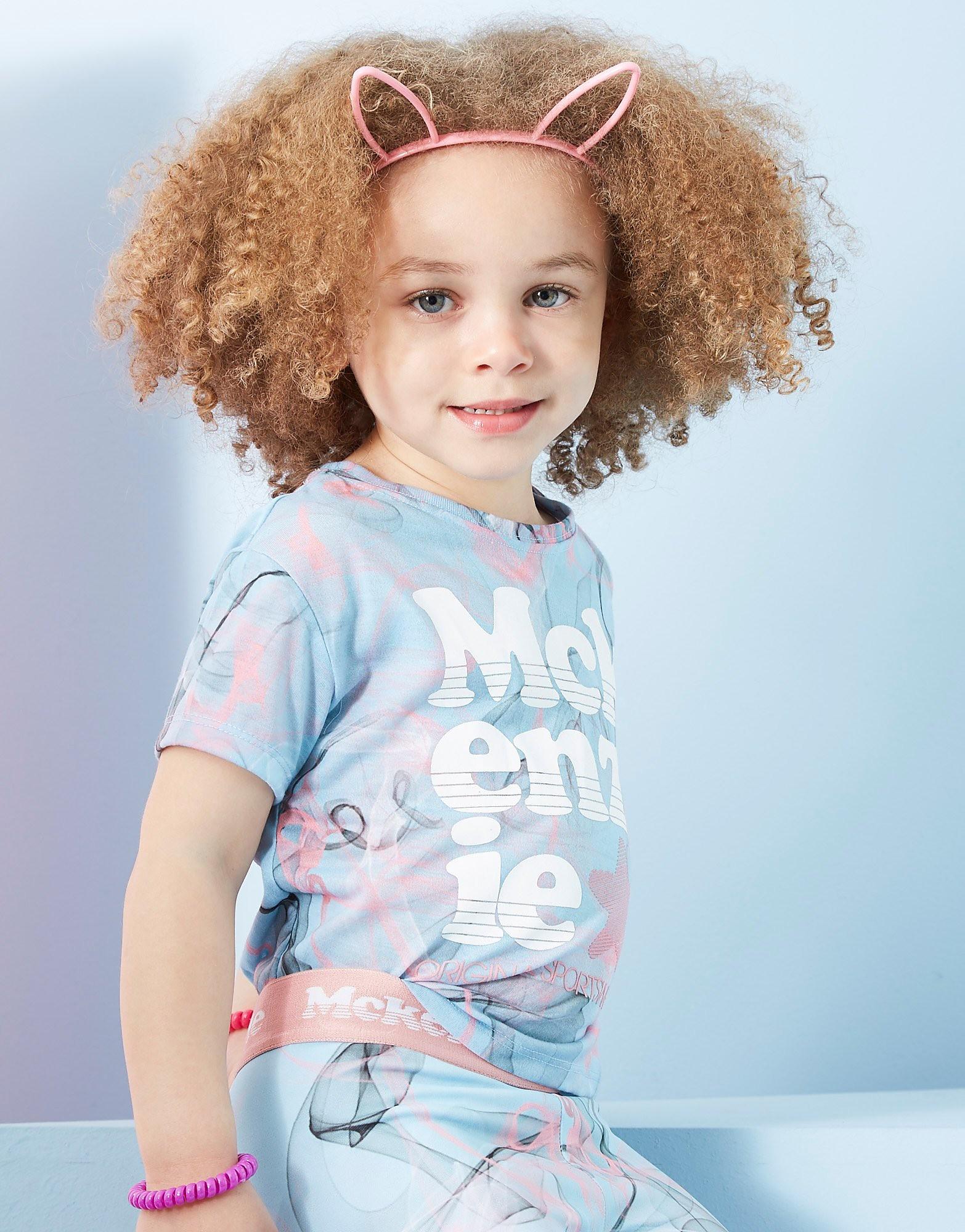 McKenzie Star Cropped T-Shirt Bambina