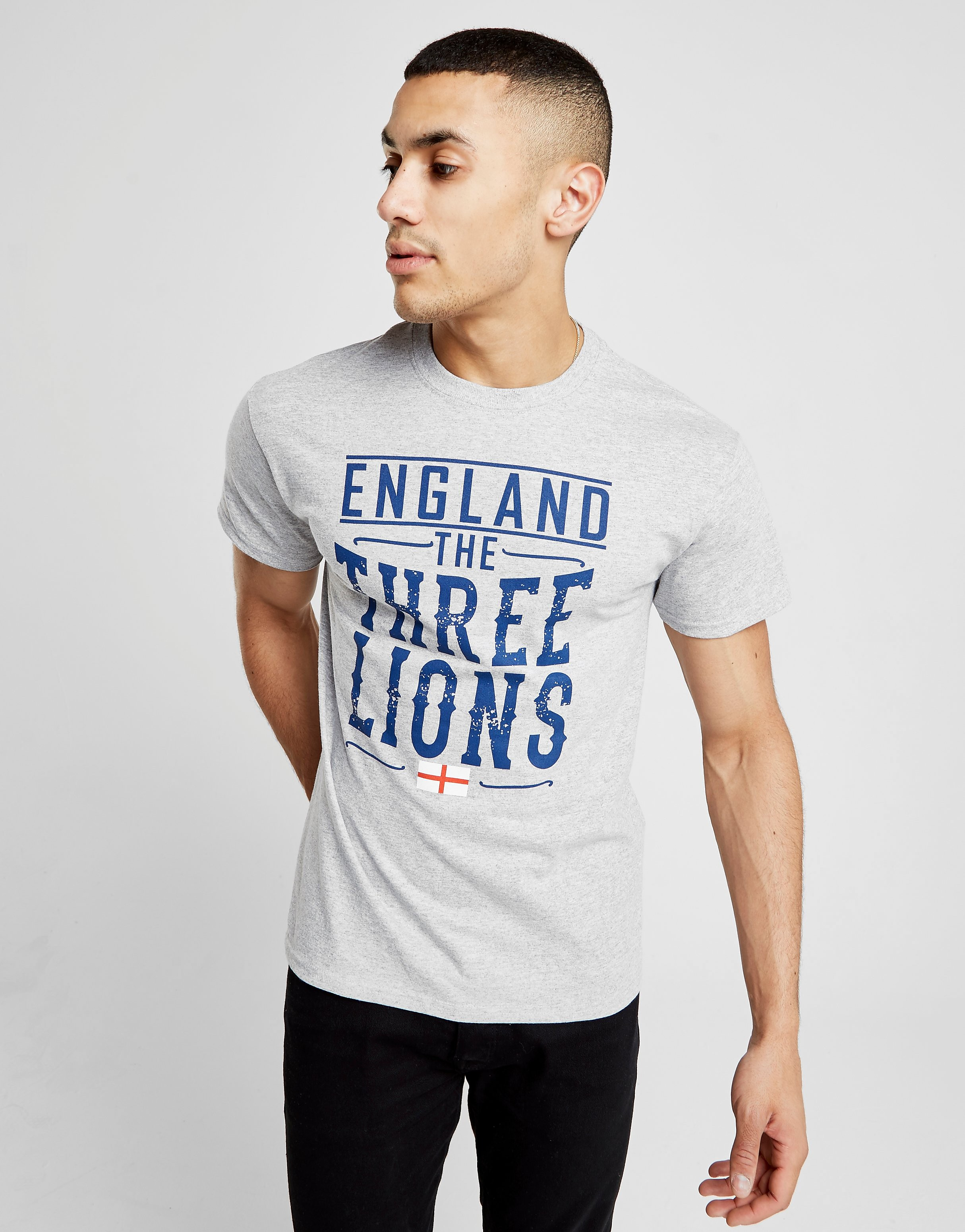 Official Team England Three Lions T-Shirt