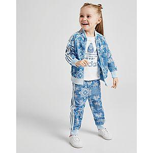 adidas Originals Girls  All Over Print Superstar Tuta Bebè ... a9405e6081dc